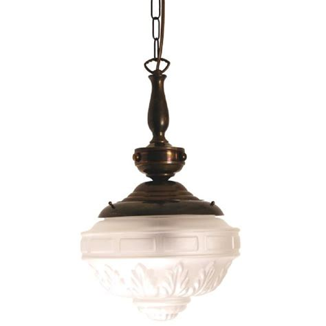 or edwardian light with patterned frosted