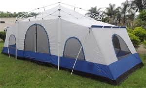tents for room deluxe 4 room cabin tent 24 x10 large cing tent