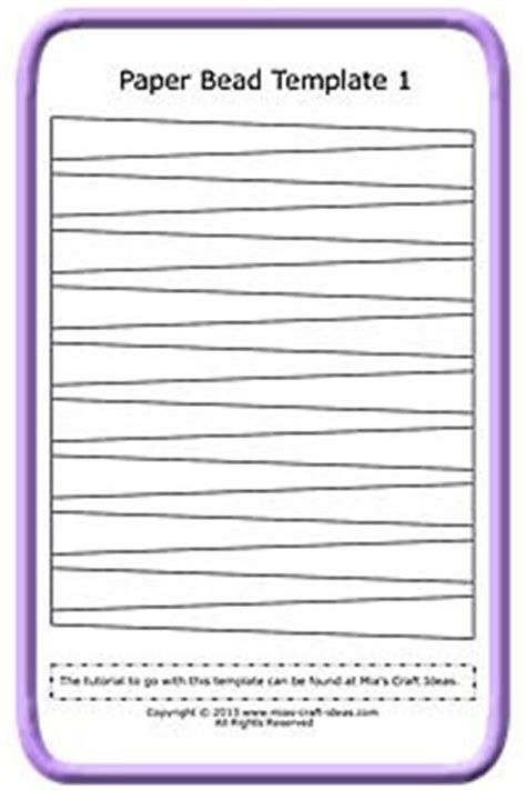 paper bead template best 25 paper template ideas on paper