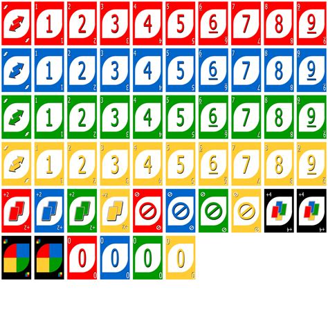 printable uno card game the gallery for gt uno cards printable