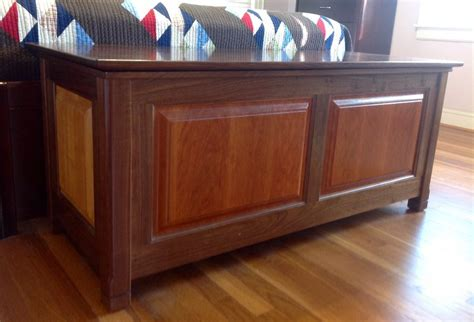 walnut cherry blanket chest  bentium  lumberjocks
