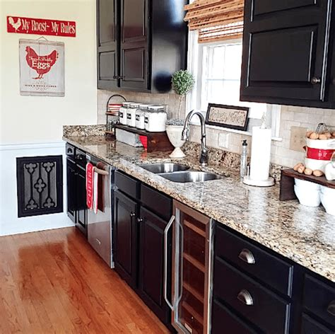 black painted kitchen cabinet ideas painted kitchen cabinet ideas