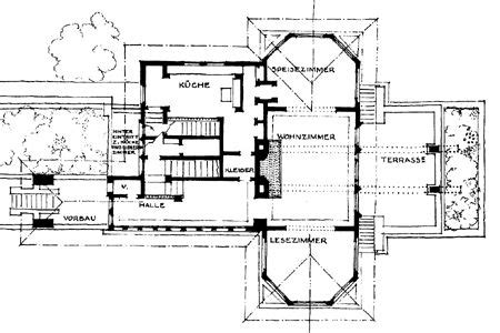frank lloyd wright home and studio floor plan f b henderson house elmhurst illinois 1901 prairie