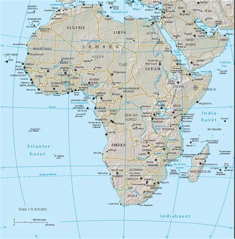 africa map zoom africa mapsof net