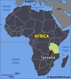 Tanzania Africa Map map of tanzania facts amp information beautiful world