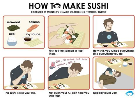 iron man version how to make sushi know your meme