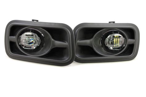 led headlights and fog lights dodge ram xb led fog lights from morimoto hid