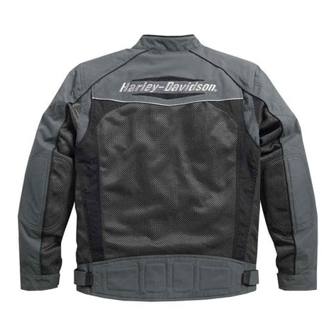 riding jacket for men harley davidson mens utilitarian textile and mesh riding