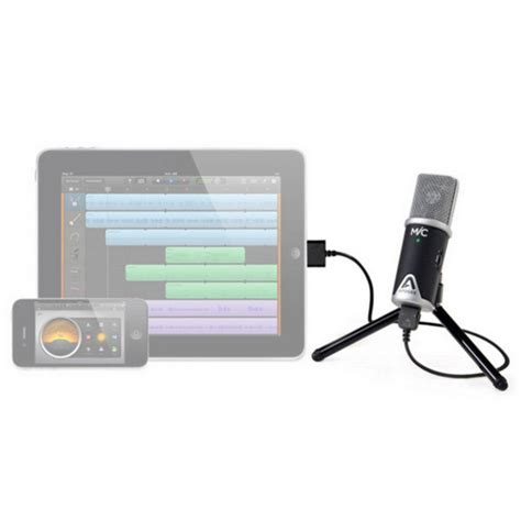 iphone microphone apogee mic usb microphone for iphone and mac at gear4music