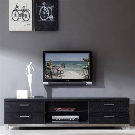 b modern furniture promoter 79 quot contemporary tv stand in