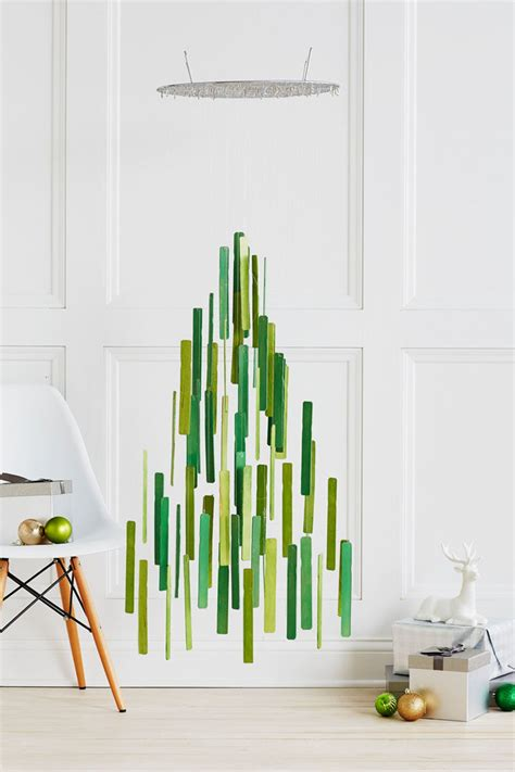 fishing line christmas tree decor ideas 14 diy alternative modern trees contemporist