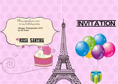 tutorial membuat undangan ulang tahun dengan photoshop cara membuat undangan ulang tahun dengan corel draw x3