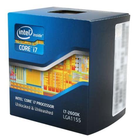 intel i7 2600k sockel intel i7 2600k processor 3 4 ghz 4 lga 1155