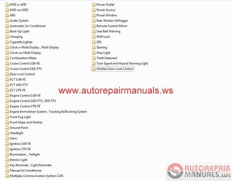 toyota hilux 2010 wiring diagram auto repair manual
