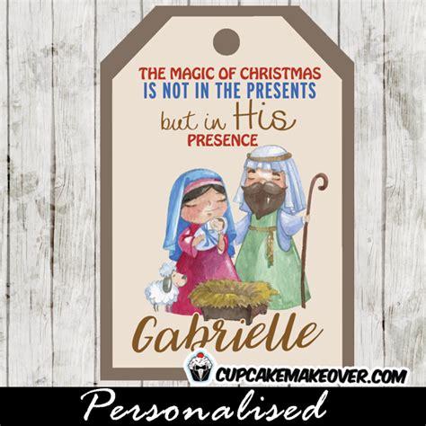 printable nativity gift tags printable christmas tags holy family nativity scene