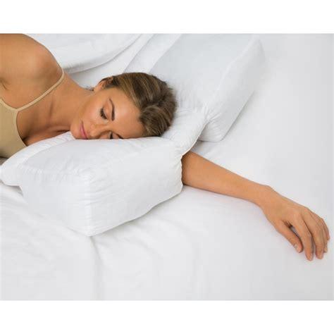 Tunnel Pillow by Better Sleep Pillow Gel Fiber Pillow Patented Arm Tunnel