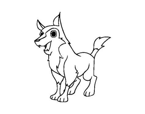 dibujos de perros para colorear dibujosnet dibujo de perro mestizo para colorear dibujos net
