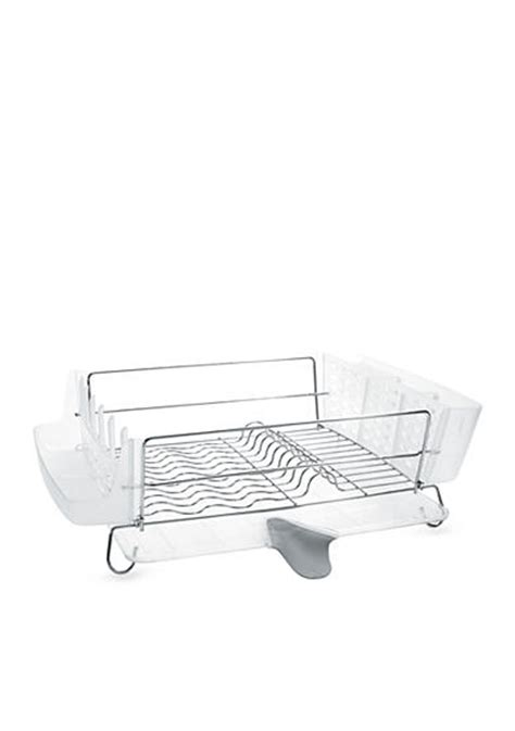 Oxo Folding Dish Rack by Oxo Folding Stainless Steel Dish Rack Belk
