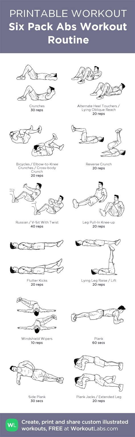 best 25 six pack abs workout ideas on six