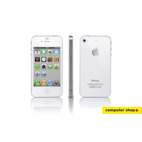 apple 4s mobile phone apple iphone 4s mobile white
