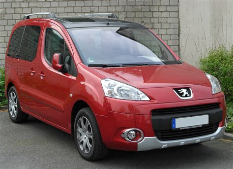 peugeot partner tepee peugeot partner and partner tepee modernity and
