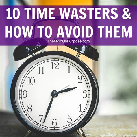 Your Time Wasters by 10 Time Wasters And How To Avoid Them The Simply