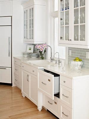 Bright White Kitchen Cabinets Light And Bright Home Decorating Grey Subway Tiles The Grey And Glasses