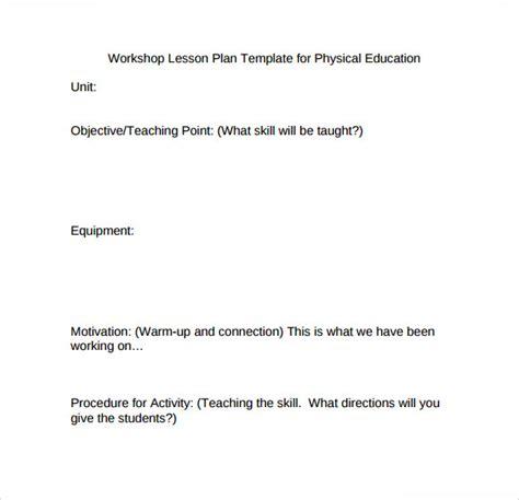 lesson plan template jmu sle physical education lesson plan template 7 free