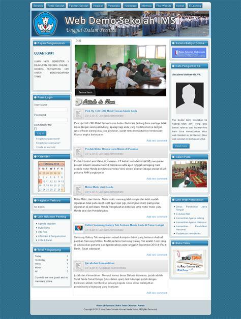 membuat website sekolah gratis web sekolah gratis