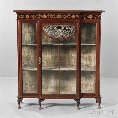 nouveau china cabinet nouveau china cabinet auction 2888b lot 655