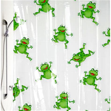frog shower curtains frog bathroom shower curtain and accessory karate kid