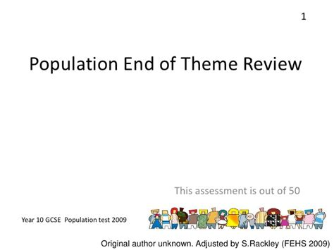 theme quiz take summary end of mid theme population quiz