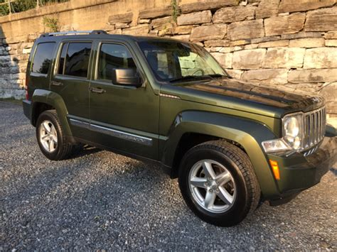 Gas Mileage 2008 Jeep Liberty 2008 Jeep Liberty Limited 4x4 4dr Suv In Harrisburg Pa