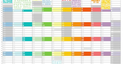 Dirtbin Designs Free Printable 2015 Year Planner By | dirtbin designs free printable 2015 year planner by