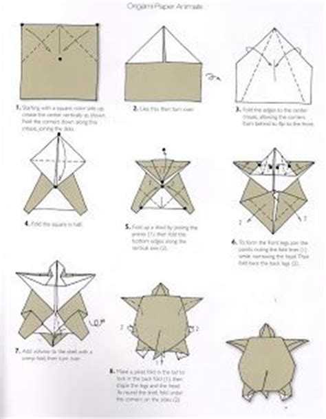 How To Make An Origami Turtle - 12 best craft origami turtle images on