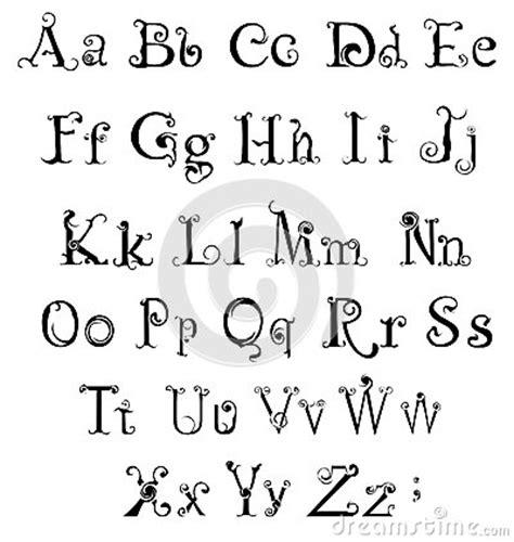 Modeles De Lettre Alphabet Tatouage Alphabet Gothique Mod 232 Les Et Exemples