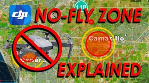 dji  fly zone explained mavic pro platinum phantom