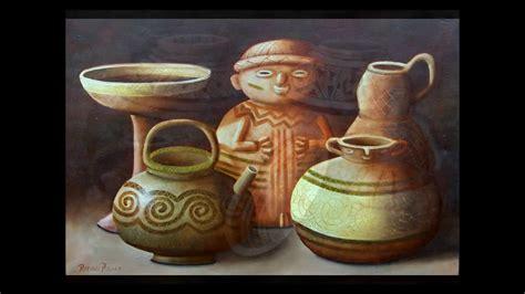 imagenes de jarrones mayas arte oleo pintura ceramicas precolombinas youtube