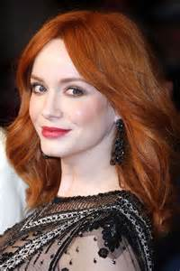 actress with bright red hair red hair color celebrities with red hair hair color