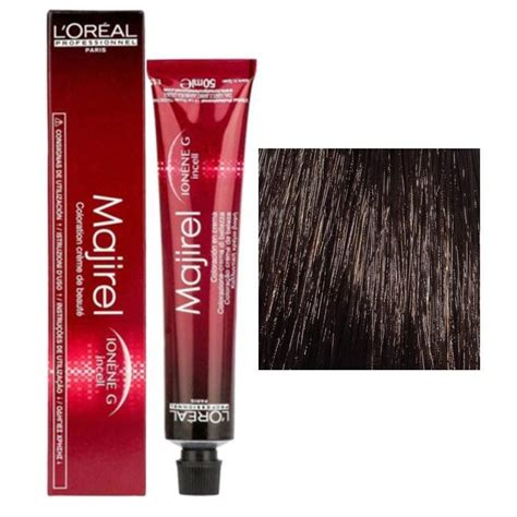 L Oreal Majirel No 6 45 Permanent Hair Color Mahogany Copper 50 Ml Buy L Oreal Loreal Professionnel Majirel Ld Hair Color 4 Brown