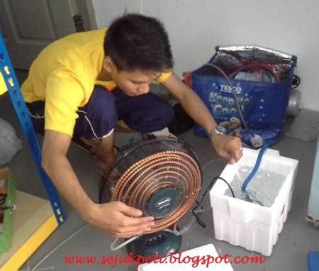 Kipas Angin Ac Isi Es Batu cara membuat kipas angin ac sendiri biaya murah diedit