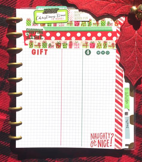 the happy planner christmas planners me my big ideas