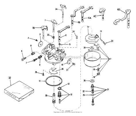 tecumseh carburetor parts diagram tecumseh ca 631003 parts diagram for carburetor