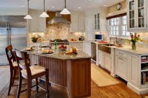 kitchen triangle with island kitchens with triangular islands design ideas pictures