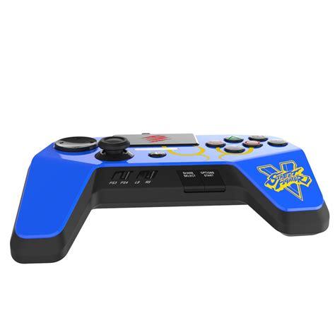 Pro Controller Ps4 Fighting Madcatz mad catz fighter v fightpad pro blue 3 idealist