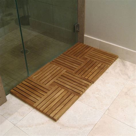parquet wood deck teak tiles westminster teak