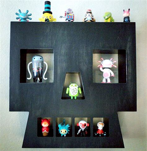 Skull Shelf by Vinyl Pulse Daily News About Designer Toys