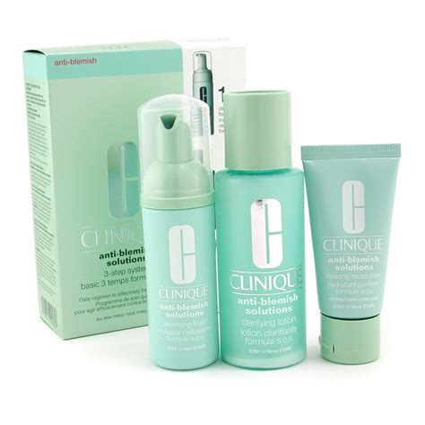 Clinique 3 Step clinique anti blemish solutions 3 step system cleansing
