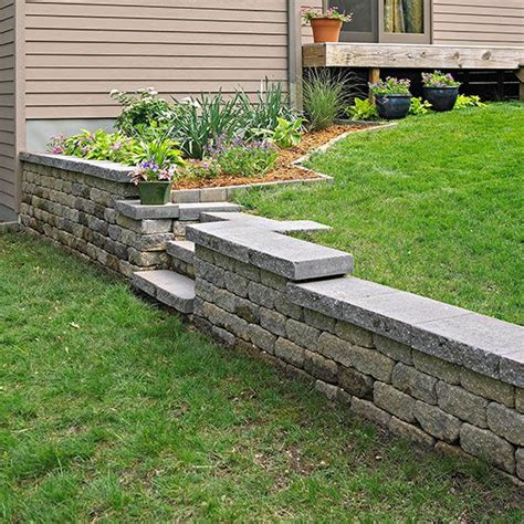 Garden Wall Diy How To Build A Retaining Wall