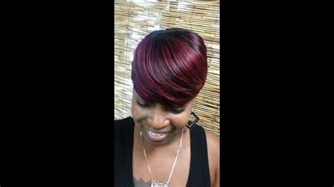 short cut with janet hair we love short cuts by jada quick weaves youtube